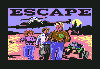 Escape Commodore 64 Title screen