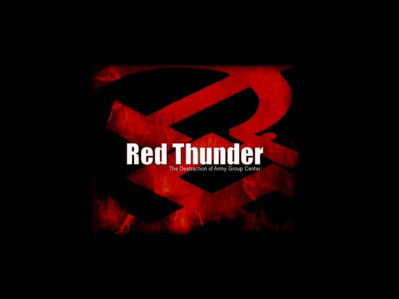 Red Thunder Windows Title screen