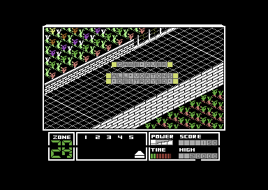 Highway Encounter Commodore 64 All life lost - Game Over