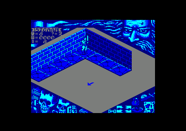 HeroQuest Amstrad CPC Starting the Maze.