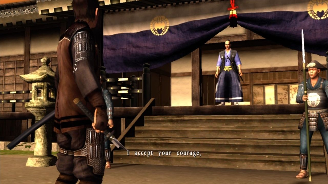 Way of the Samurai 3 Xbox 360 My sword is broken but I could still kill you, you hear?!