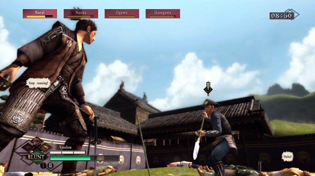 Way of the Samurai 3 Xbox 360 Awesome fight scene coming up!