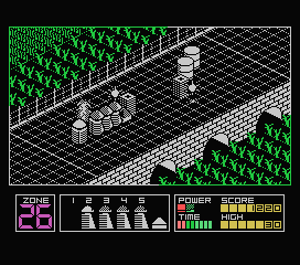 Highway Encounter MSX I killed an enemy.