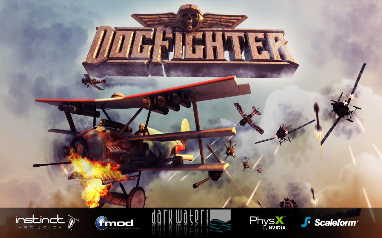 DogFighter Windows Title screen