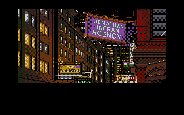Policenauts PC-98 Jonathan Ingram Agency