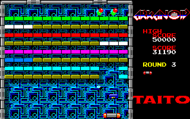 Arkanoid PC-88 This stage is much harder than it looks