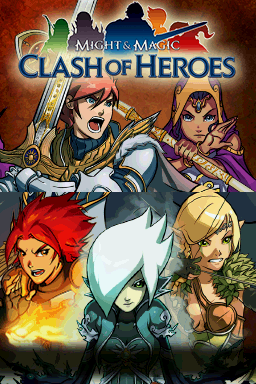 Might & Magic: Clash of Heroes Nintendo DS The title screen