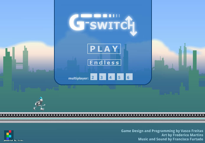 G-Switch Browser Main menu