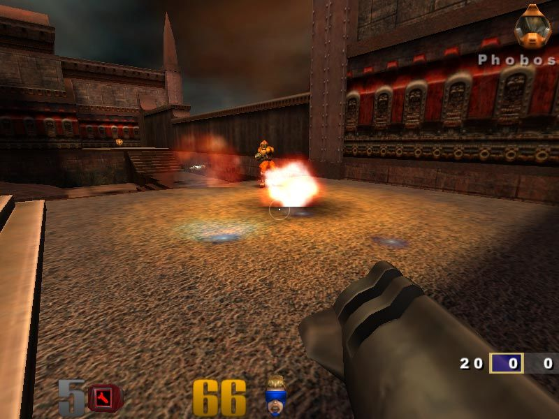Quake III: Arena Windows That hurts for sure