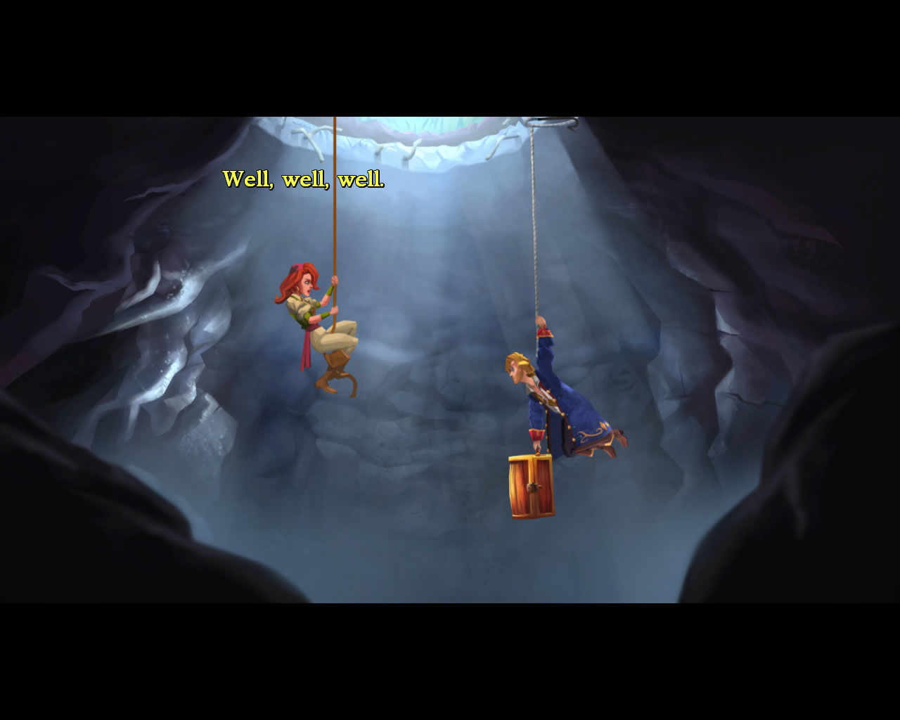 Monkey Island 2: LeChuck's Revenge - Special Edition Windows The intro sequence