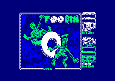Toobin' Amstrad CPC Loading screen