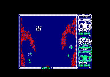 Toobin' Amstrad CPC Entering another new area. Desert, I think.