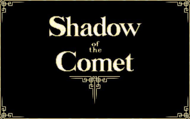 Call of Cthulhu: Shadow of the Comet PC-98 ...Shadow of the Comet!