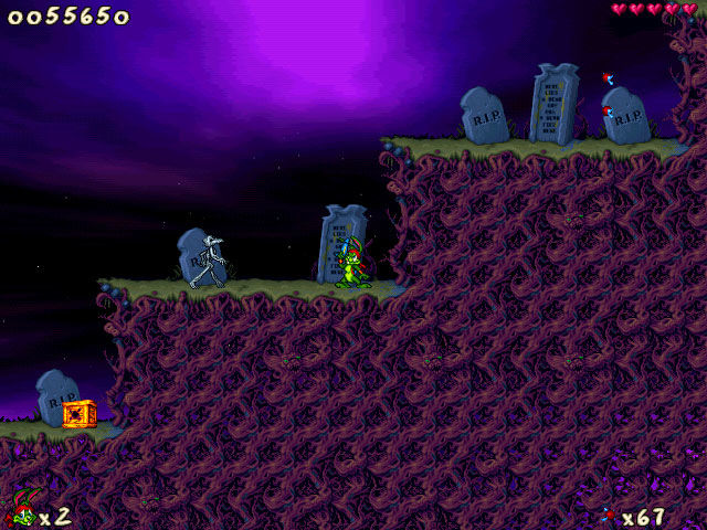 Jazz Jackrabbit 2: The Secret Files Windows Graveyard Shift