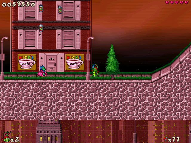 Jazz Jackrabbit 2: The Secret Files Windows Turtle Town