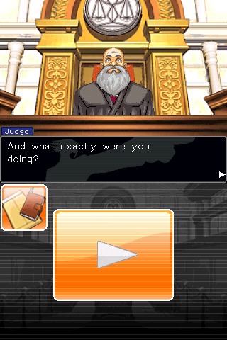 Phoenix Wright: Ace Attorney iPhone The Judge