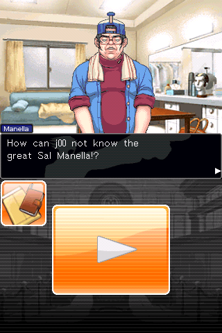 Phoenix Wright: Ace Attorney iPhone ... but it was something worse, the nerd with directing skills!