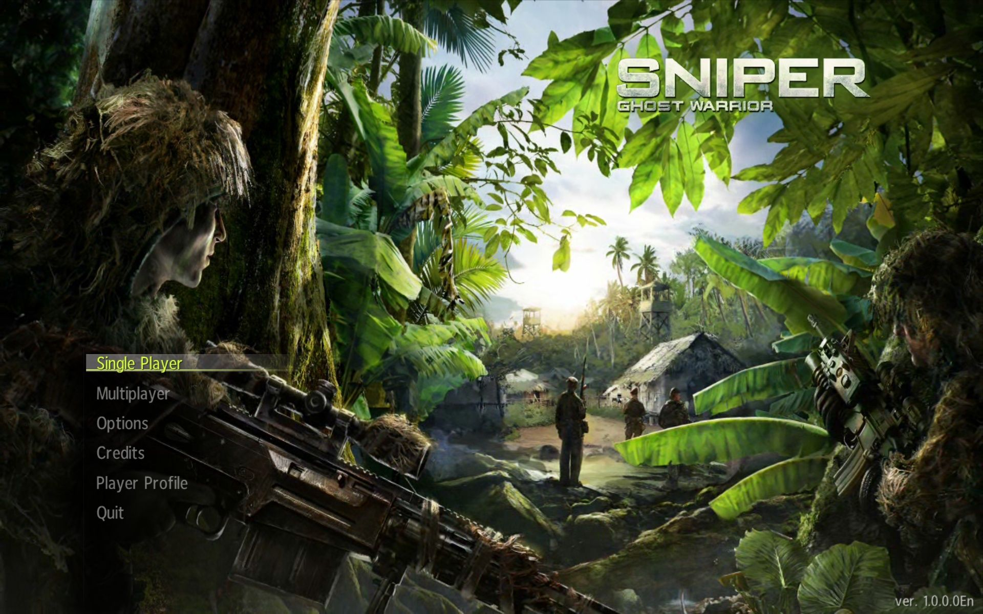 sniper: ghost warrior screenshots for windows - mobygames