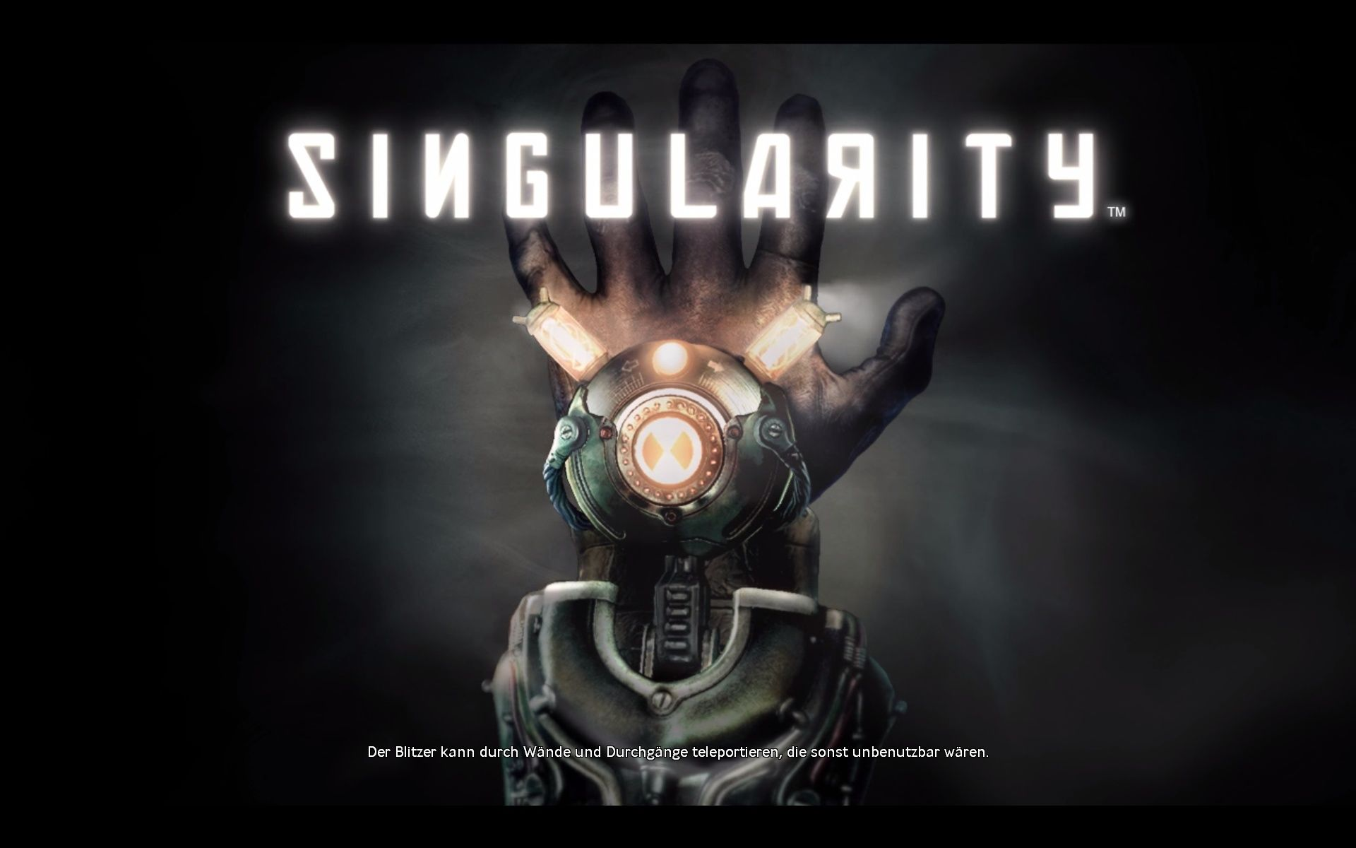 Singularity Windows Loading Screen