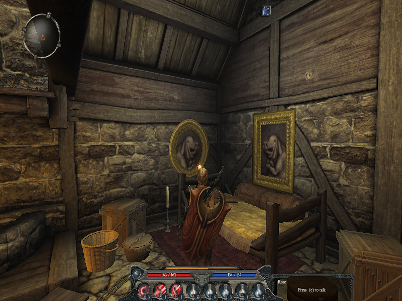 Divinity II: Ego Draconis Windows The game is full of funny things. The owner of this house has a real passion for pigs