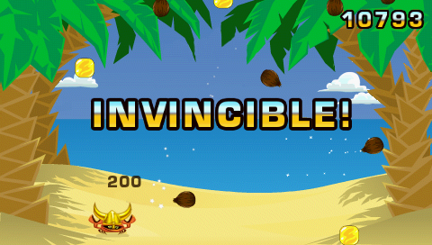 Coconut Dodge PSP Invincible!