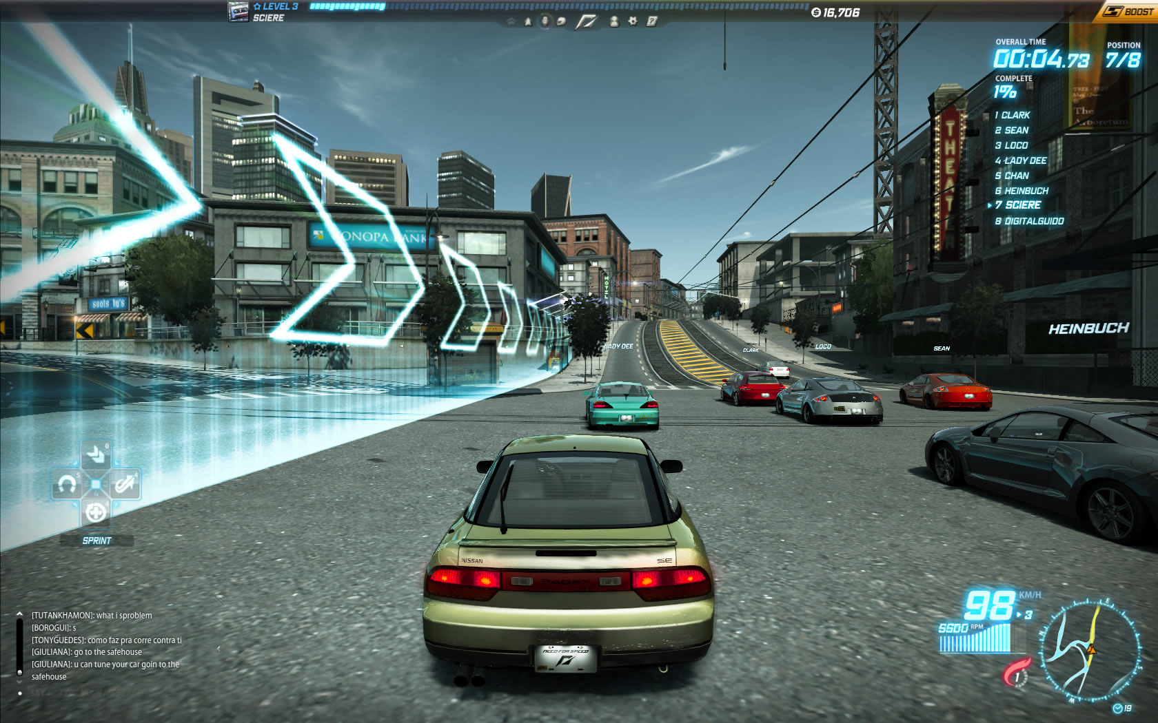 Need for Speed: World Windows Start of a race
