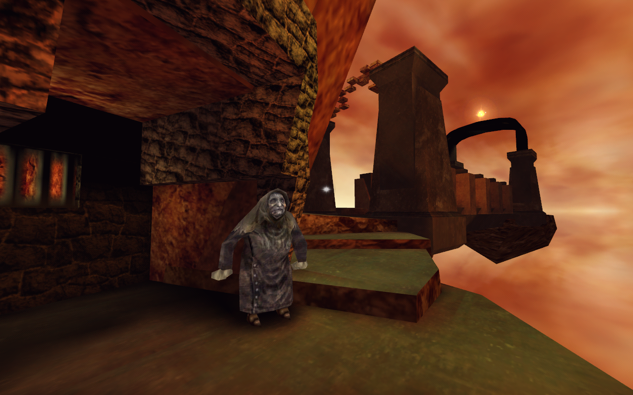 Auryn Quest Windows The witch at the Wandering Mountain claims to know where an Auryn can be found.