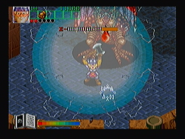 Wizard Fire Zeebo The dwarf uses magic to turn into a rock. While in that form, the player becomes invulnerable until the magic meter at the bottom of the screen is depleted.