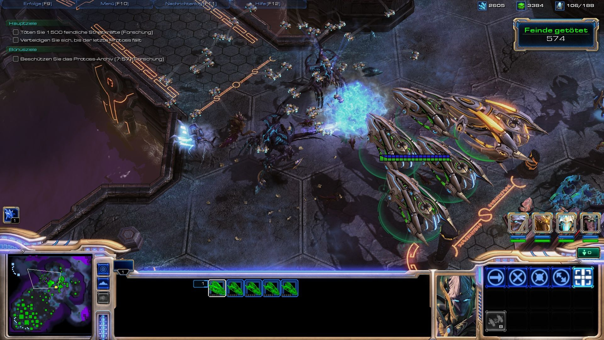 StarCraft II: Wings of Liberty Windows You'll be playing the protoss for a few missions, too.