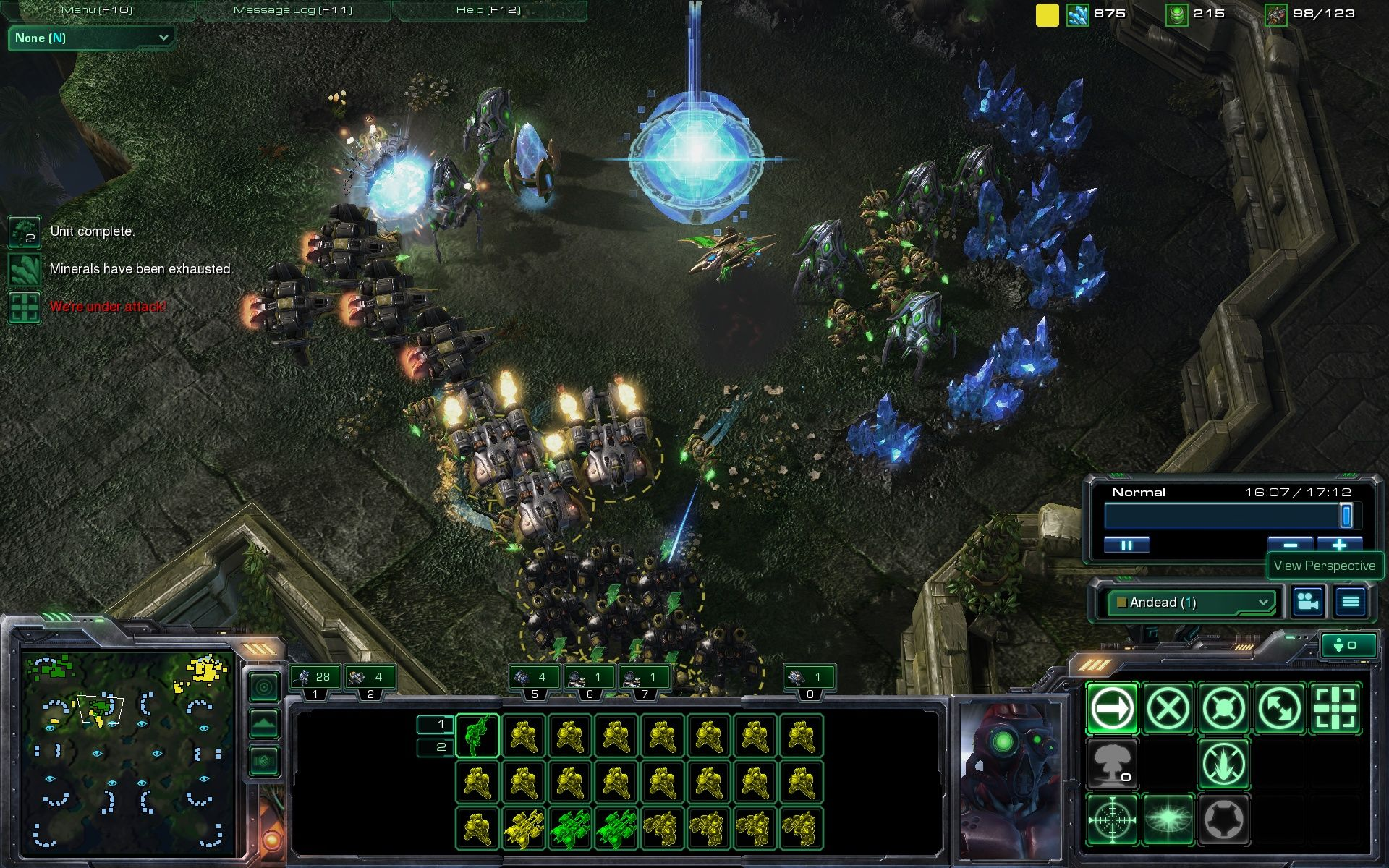 StarCraft II: Wings of Liberty Windows Multiplayer: this Protoss expansion is gone before it has even been built