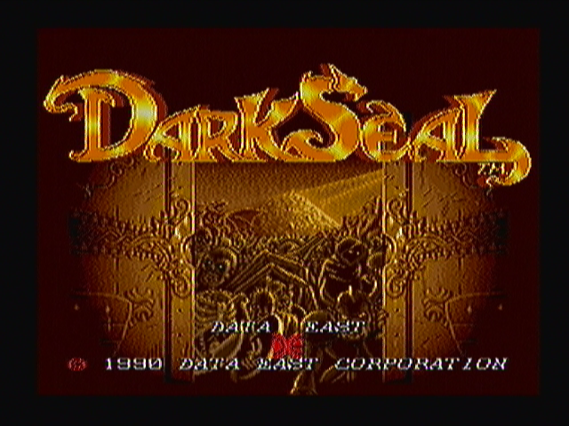Dark Seal Zeebo Title screen.
