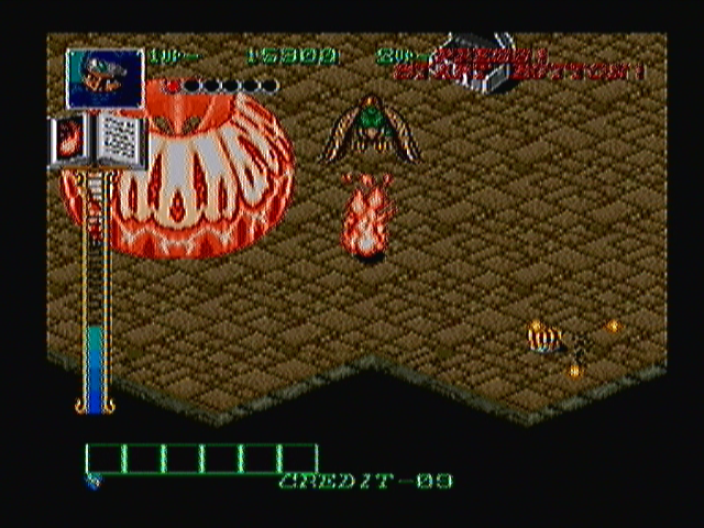 Dark Seal Zeebo The ninja uses magic to turn into a bush of fire. While in that form, the player becomes invulnerable until the magic meter at the bottom of the screen is depleted.