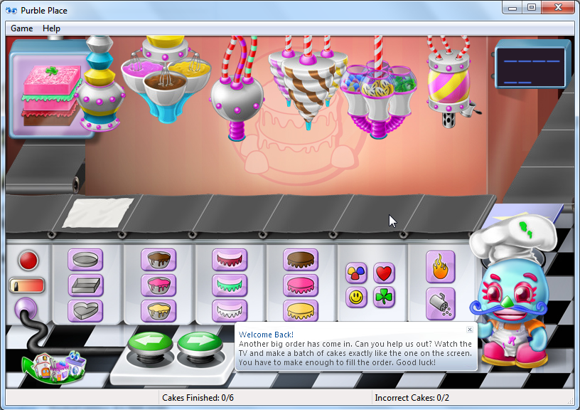 Free Cooking Games Baking Cakes