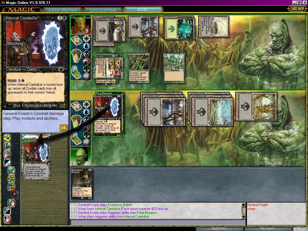 Magic Duels Which Is Like A Smaller Version Of Magic The Gathering Online  Looks Like This