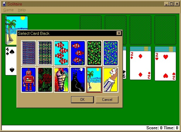 windows solitaire microsoft 39 s most popular game for 25 On window 98 games