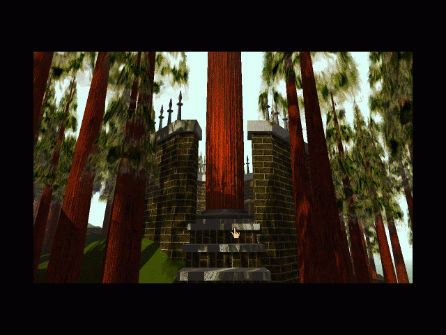 Myst Macintosh Giant tree platform