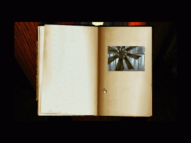 Myst Macintosh Link book to Channelwood age