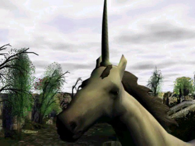 Gabriel Knight 3: Blood of the Sacred, Blood of the Damned Windows The intro video features a mysterious unicorn