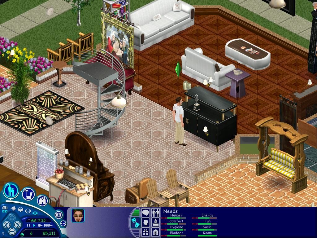 The Sims: Superstar Windows You can then display that award on the award stand,