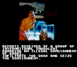 Lethal Weapon SNES Mission intro