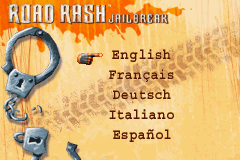 Road Rash: Jailbreak Game Boy Advance Several languages are available