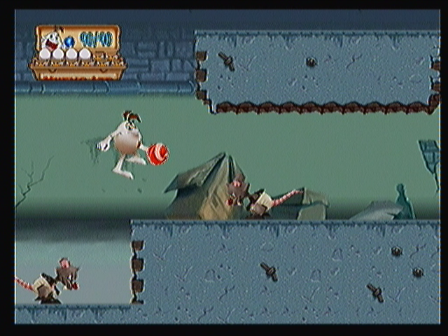 Un Juego de Huevos Zeebo In the second stage Toto will travel through the sewers. His enemies will be mostly rats like these.