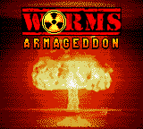 Worms: Armageddon Game Boy Color Title