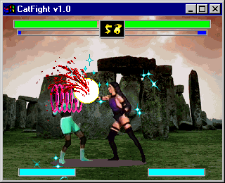 CatFight: The Ultimate Female Fighting Game Windows Thermia vs. Bass
