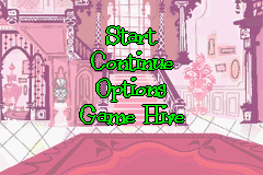 Foster's Home for Imaginary Friends Game Boy Advance Main menu