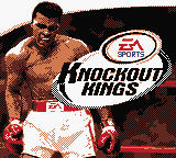Knockout Kings Game Boy Color Title Screen