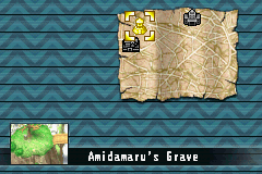 Shaman King: Legacy of the Spirits - Soaring Hawk Game Boy Advance Overview of the places we can visit.