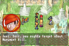 Shaman King: Legacy of the Spirits - Soaring Hawk Game Boy Advance Cut scene: The bullies are still chuntering over their defeat.