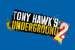 Tony Hawk's Underground 2 Game Boy Advance Title screen