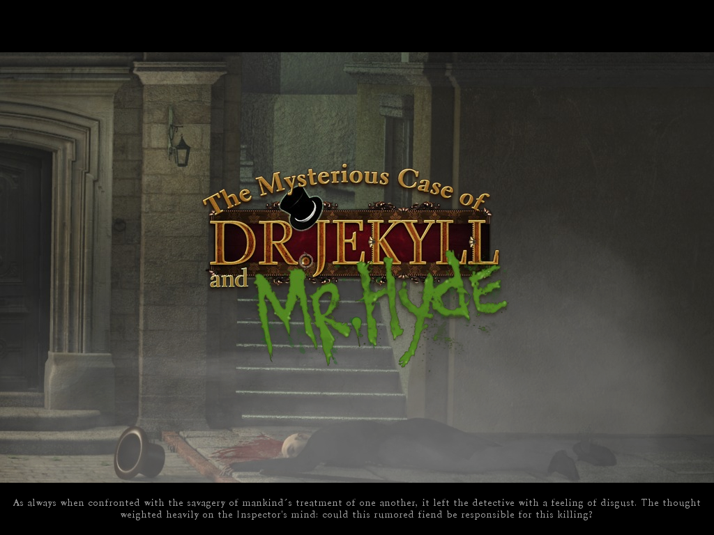 The Mysterious Case of Dr. Jekyll and Mr. Hyde Windows Introduction